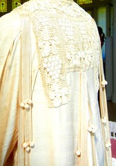 Back details, Katrina's silk robe, Yaddo
