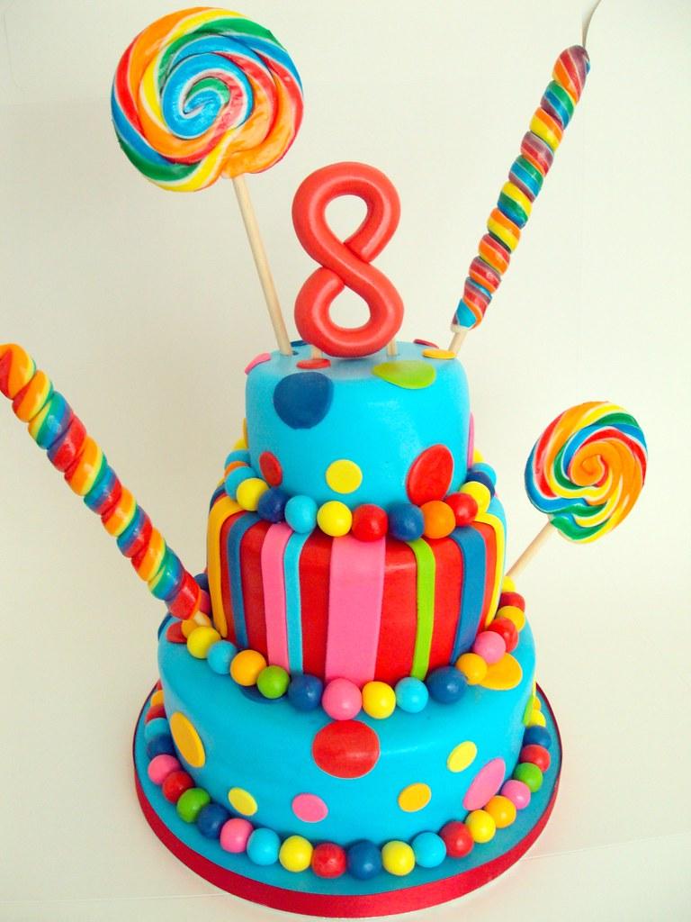 Birthday Cake Ideas Girl 8 : 8th Birthday Cake - a photo on Flickriver