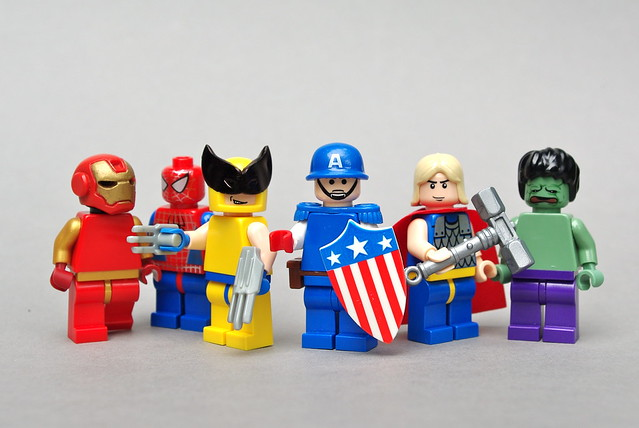 Os Vingadores - Lego