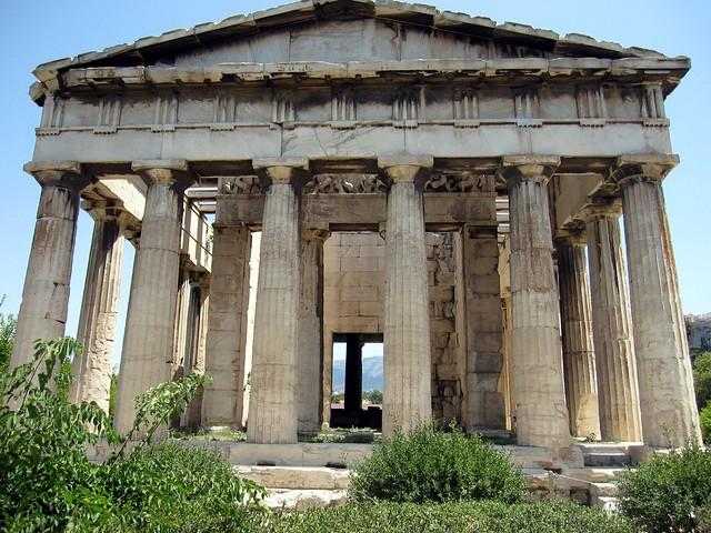temple of hephaestus  Flickr - Photo Sharing!