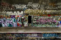 Grafiti dans les tunnels de la Petite Ceinture // Grafiti in the tunnels of the Petite Ceinture