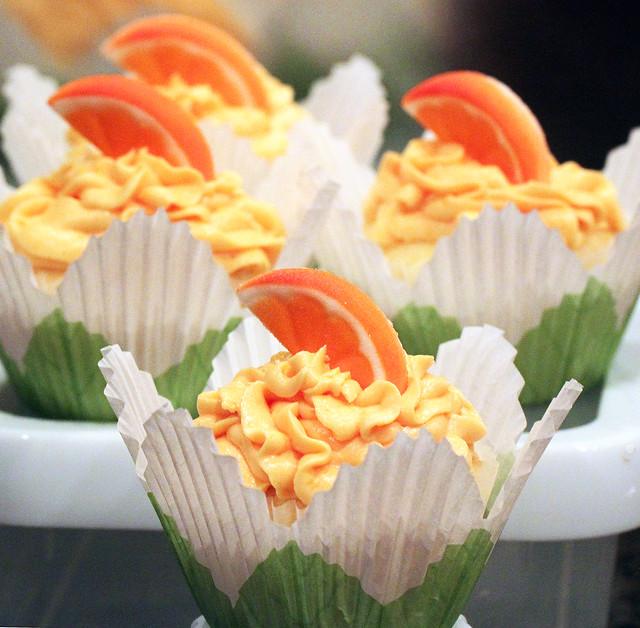 Orange Mimosa Cupcakes | Flickr - Photo Sharing!
