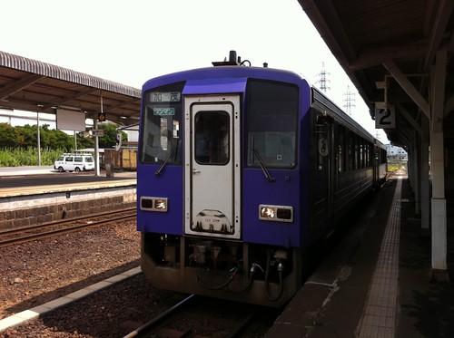 伊賀上野駅なう。青春18きっぷは、今日を入れてあと2回。