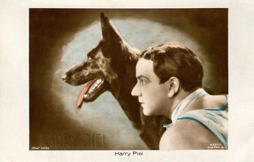 Harry Piel in Sein bester Freund (1929)