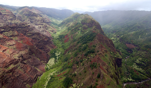 Helicopter - Waimea Canyon