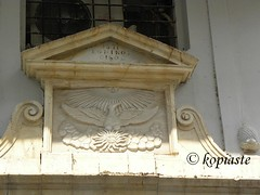 Top part of door since 1831 in Nafplion
