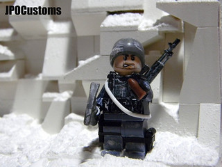 Lego Call of Duty Modern Warfare 2 Soap Mactavish Snow