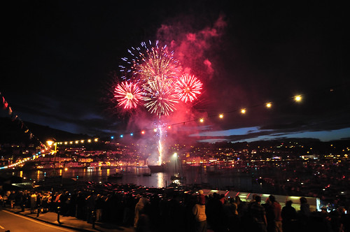 Dartmouth Regatta Fireworks
