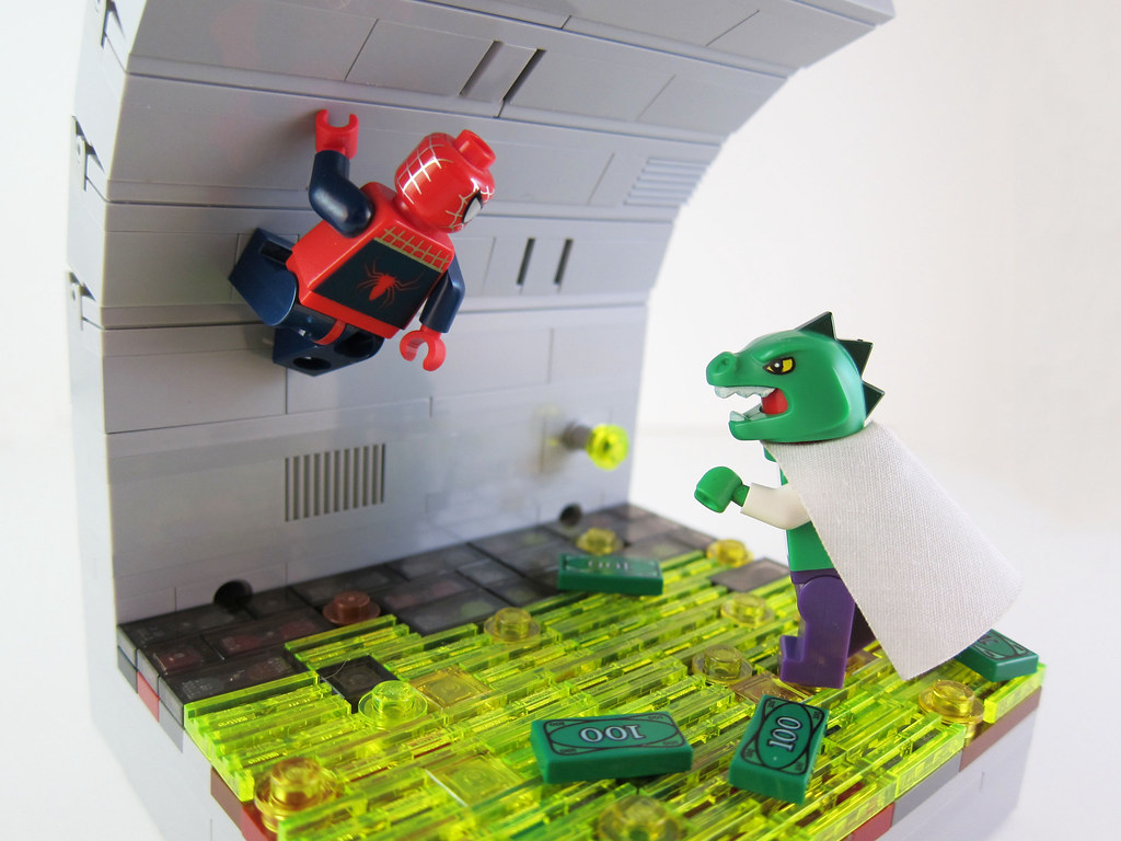 LEGO Spider-Man vs. The Lizard - a photo on Flickriver