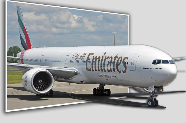 Emirates 77W Coming Thru! | Flickr - Photo Sharing! - photo#18