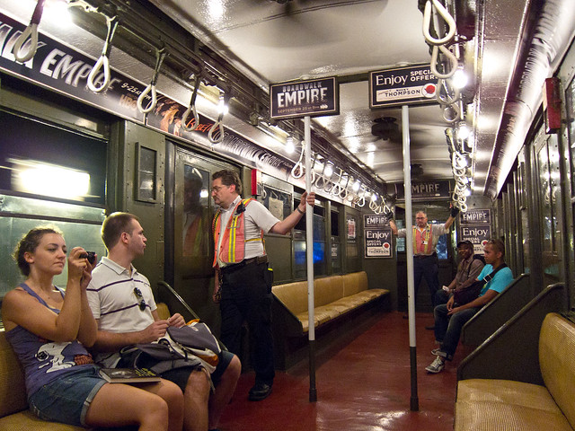 Hbo promotes boardwalk empire with vintage nyc subway train for Interieur opleidingen hbo