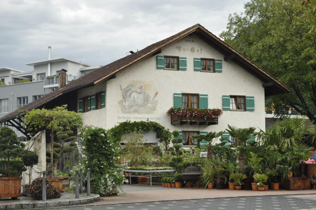 Casa típica de Liechtenstein Liechtenstein, el pequeño país de los alpes - 6116364195 1808da2a3e o - Liechtenstein, el pequeño país de los alpes