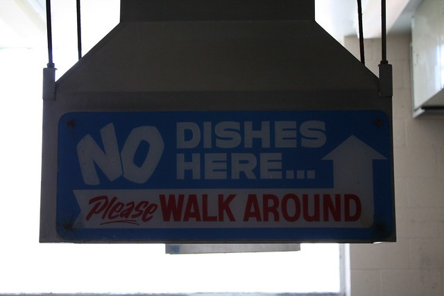 Please WALK AROUND