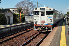 Kiha 40 series - Kibi Line (Okayama, Japan)