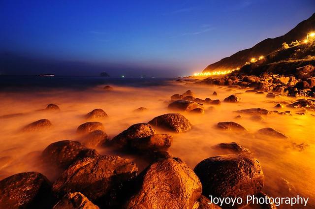 日出前的微光 外木山 Twilight