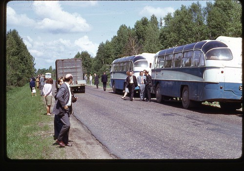 Moscow Tour Buses, 1969