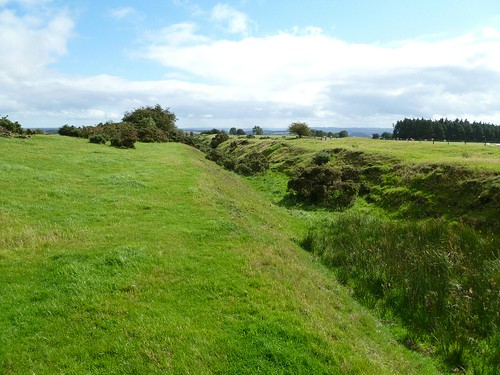 The Vallum in Wall Mile 22
