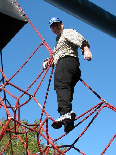 Richard on the Ropes