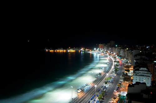 Copacabana night lights