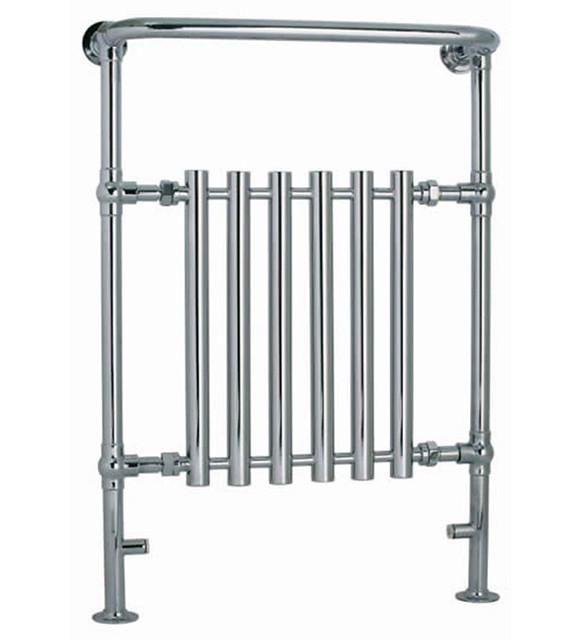 Bathroom Floor Radiators : Central heating radiator modern designer chrome floor