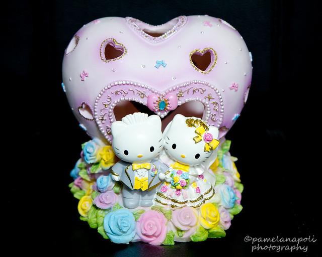 Hello Kitty And Dear Daniel Wedding Cake Topper
