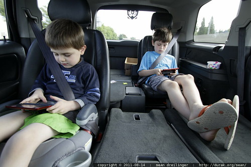 nintendo ds lite, bringing peace & quiet to minivans around the world
