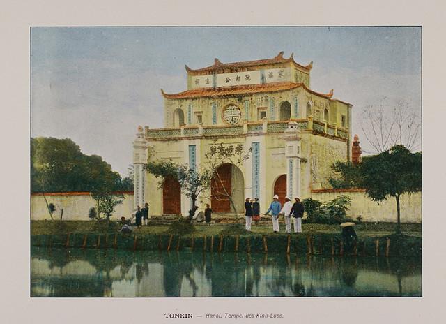 1880 Tonkin. Hanoi. Kinh-Luoc Pagoda.