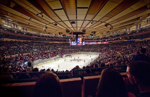 Madison Square Garden in New York, United States