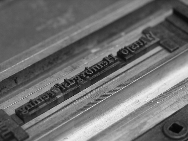 The Typographer's Last     Words