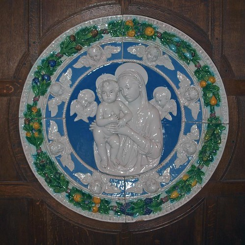 Della Robbia plaque