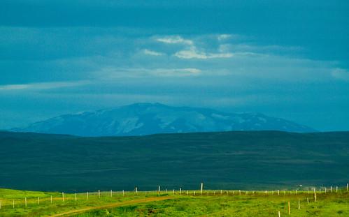 Hekla landscape