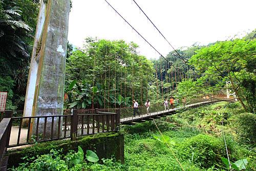 07Y8竹山天梯風景區-玉福吊橋