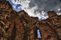 HDR of Castle Ruin Valkenburg, The Netherlands