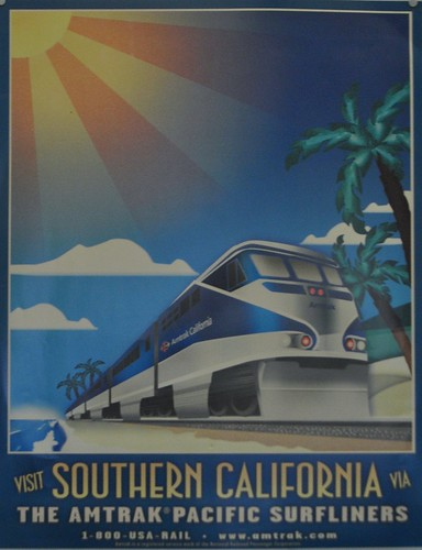 Pacific surfliner poster