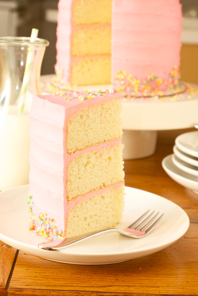 Pink Vanilla Bean Birthday Cake Smells Like Home