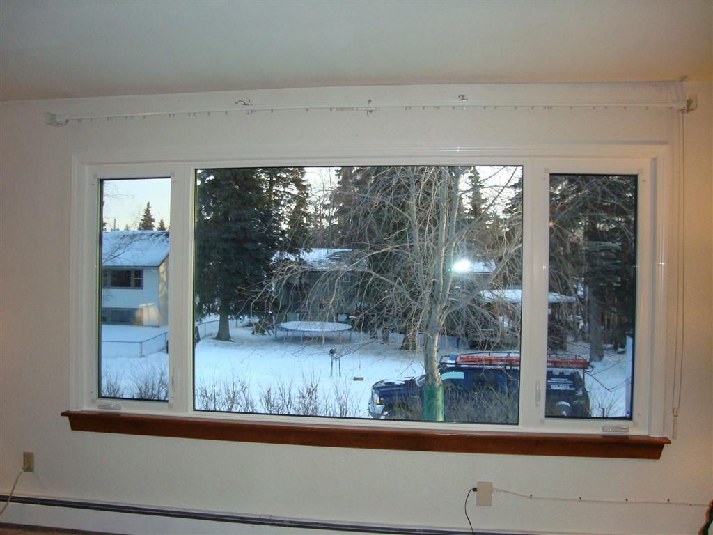 Interior vinyl window trim - Vinyl Casing Stained Pine Stool