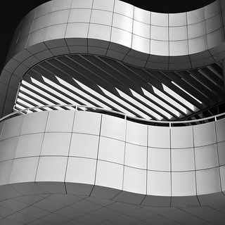 Getty Center abstraction