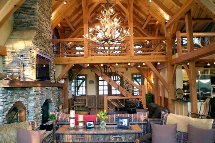 timber frame house plan design with photos