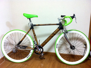 Bamboo Fixie Bike
