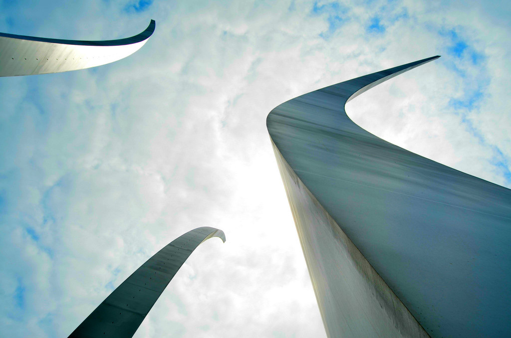 View from Underneath the Air Force Memorial