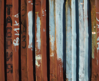 (247/365) Rusty container
