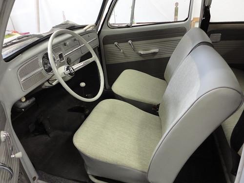 Bekleding en tapijt volkswagen kever 1964 dominique scholtes for Auto interieur bekleden
