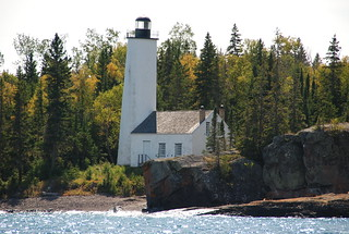 The Rock Harbor Light House, Isle Royale National Park, Michigan