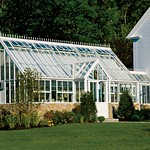 Custom Made Victorian Greenhouse With Walkway In to Kitchen