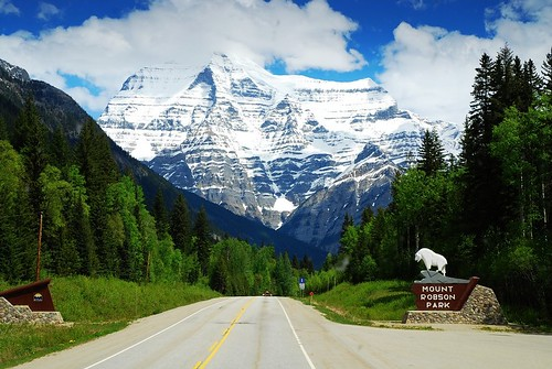 park travel mountain snow canada beautiful bc columbia mount robson british