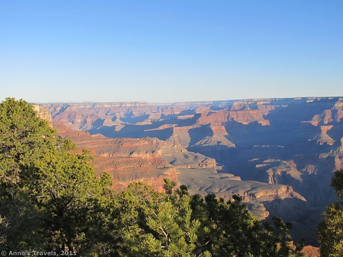 Sunrise over the Grand Canyon from Yaki Point, Grand Canyon National Park, Arizona