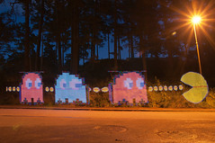 Lightpainting Pac Man