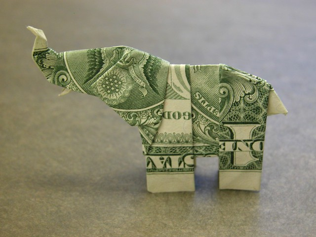 dollar bill elephant original design neal elias this is