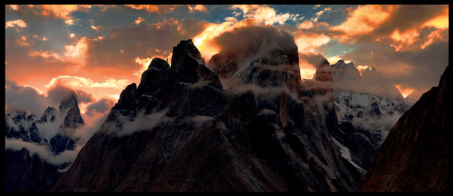 trango sunset