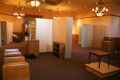 Exhibit installation